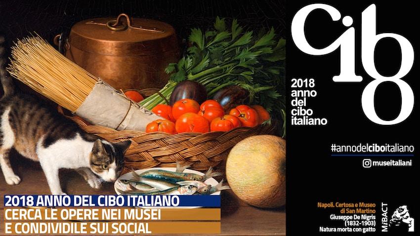 2018: anno nazionale del cibo italiano